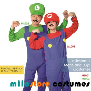 Rent Mario and Luigi Costumes Singapore