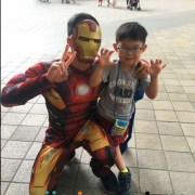 Ironman Charity Marvel Studio Hero Acts Toa Payoh HDB Hub - miiostore Costumes Singapore