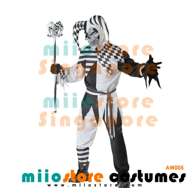 AW005 - Joker Costumes Singapore - Alice in Wonderland Costumes Singapore - miiostore Costumes Singapore