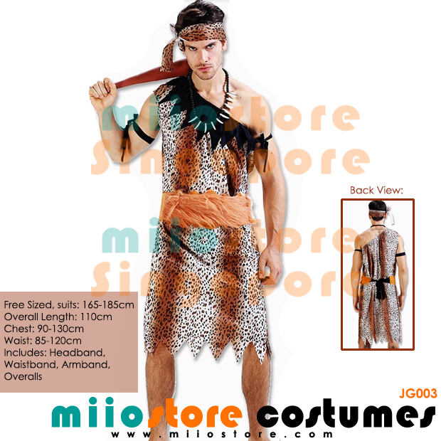Jungle Costumes Singapore - Safari Zoo Leopard Prints - miiostore Costumes Singapore - JG003