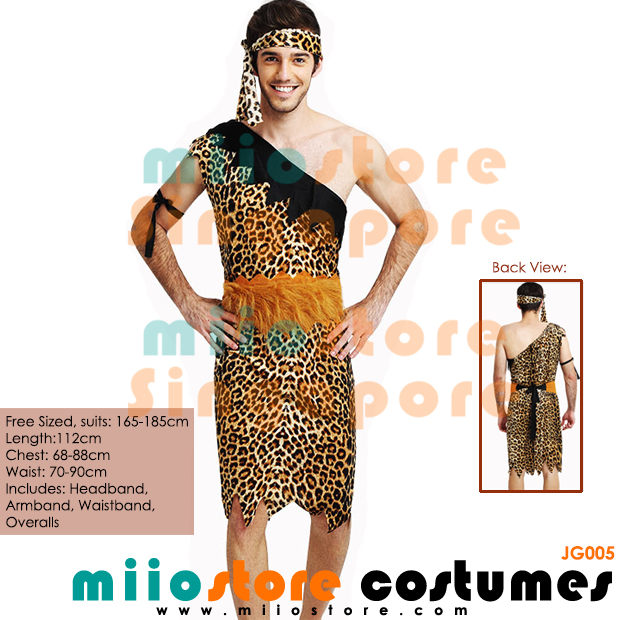 Jungle Costumes Singapore - Safari Zoo Leopard Prints - miiostore Costumes Singapore - JG005