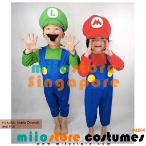Mario Costumes Singapore - ML004 - miiostore Costumes Singapore