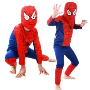 Spiderman Kids Costumes Spiderboy SP009 - miiostore Costumes Singapore