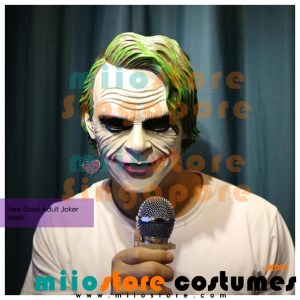 Joker Masks Singapore - JK001 - miiostore Costumes Singapore