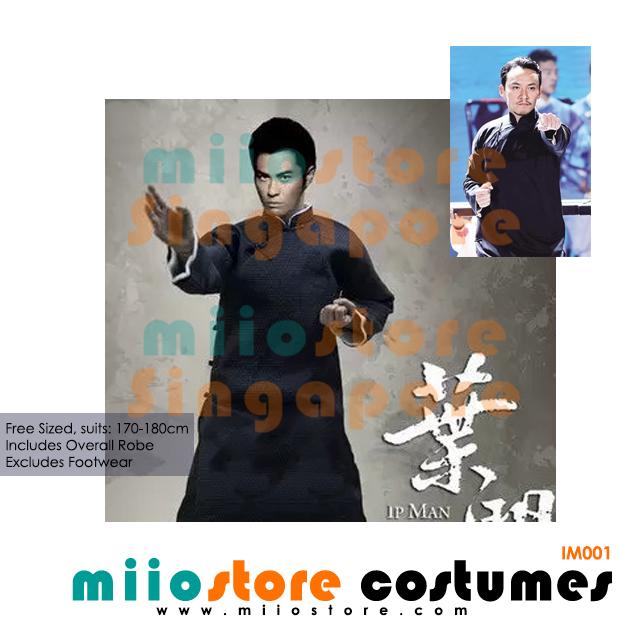 6aaed8c06 ... Wing Chun Robe Martial Arts. Chinese Kungfu Costume Ip Man Uniform -  miiostore Costumes Singapore - IM001