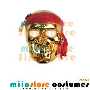 Pirate Skull Mask - miiostore Costumes Singapore - PRA002