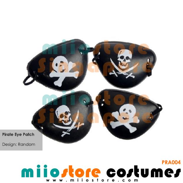 Pirate Eyepatch - miiostore Costumes Singapore - PRA004