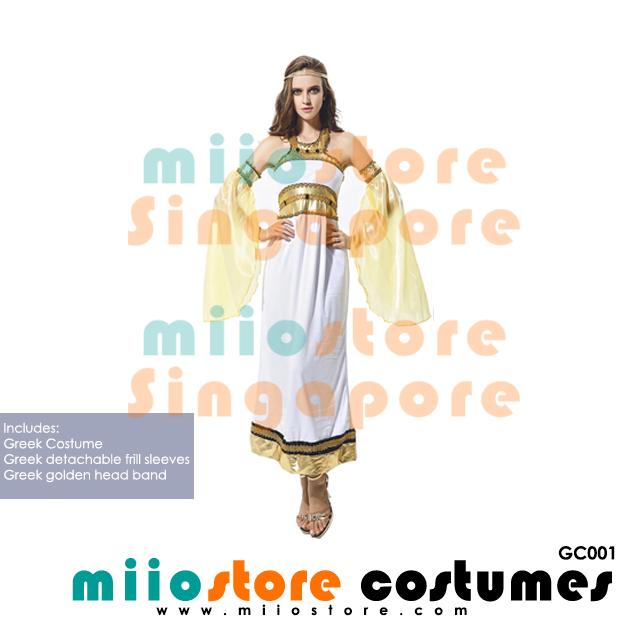 Greek Costumes - GC001 - miiostore Costumes Singapore