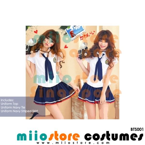 Ladies School Uniform - miiostore Costumes Singapore - BTS001