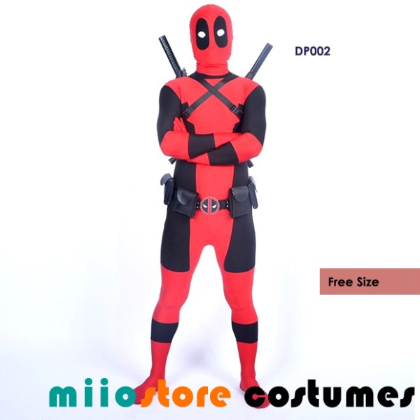 DP002 - Deadpool Costumes Type 2 - miiostore Costumes Singapore