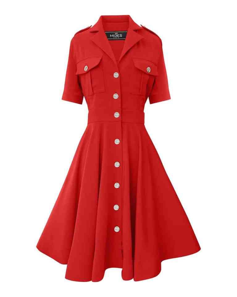Robe Army Rouge Passion