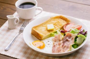 トーストの語源は、英語の【toast:温める】