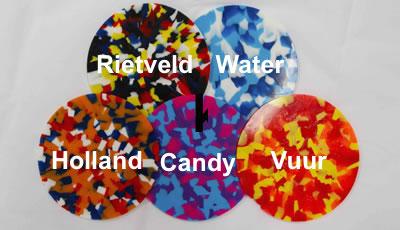 Confetti kleuren