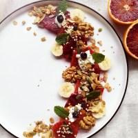 bloedsinaasappel: een hartverwarmend ontbijt