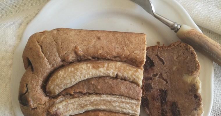 bananenbrood met pecannoten & chocolade