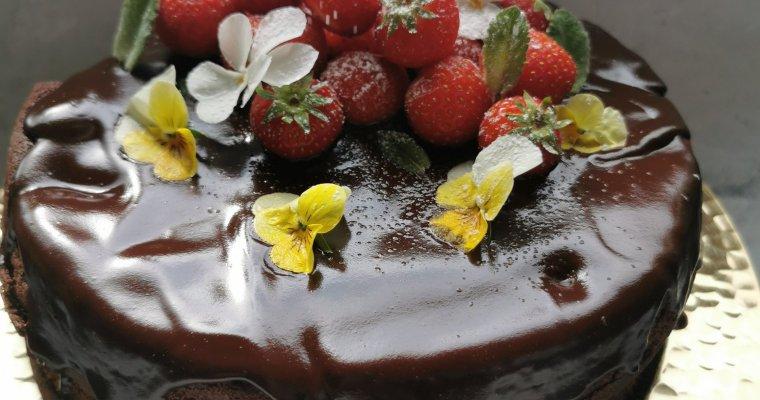 chocoladetaart, feest!