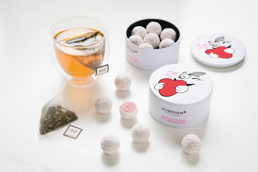 Valentine Balls - Tea & Love