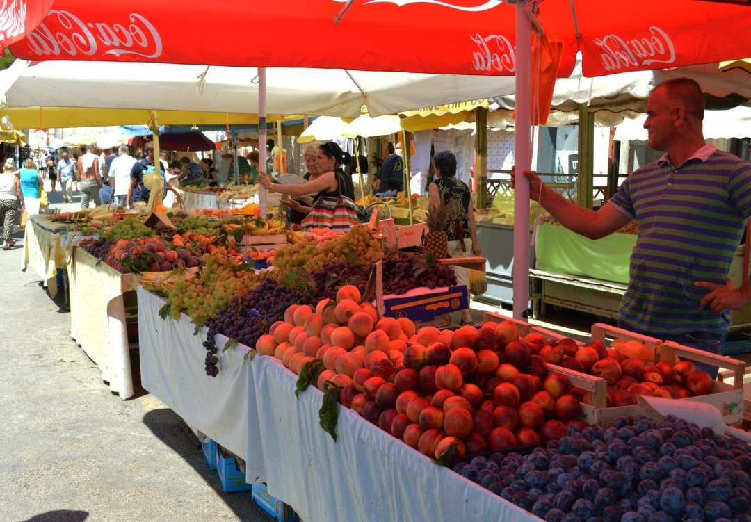 Markt Kroatië