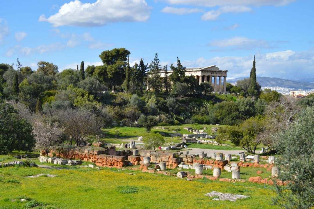 Bezienswaardigheden in Athene Ancient Agora
