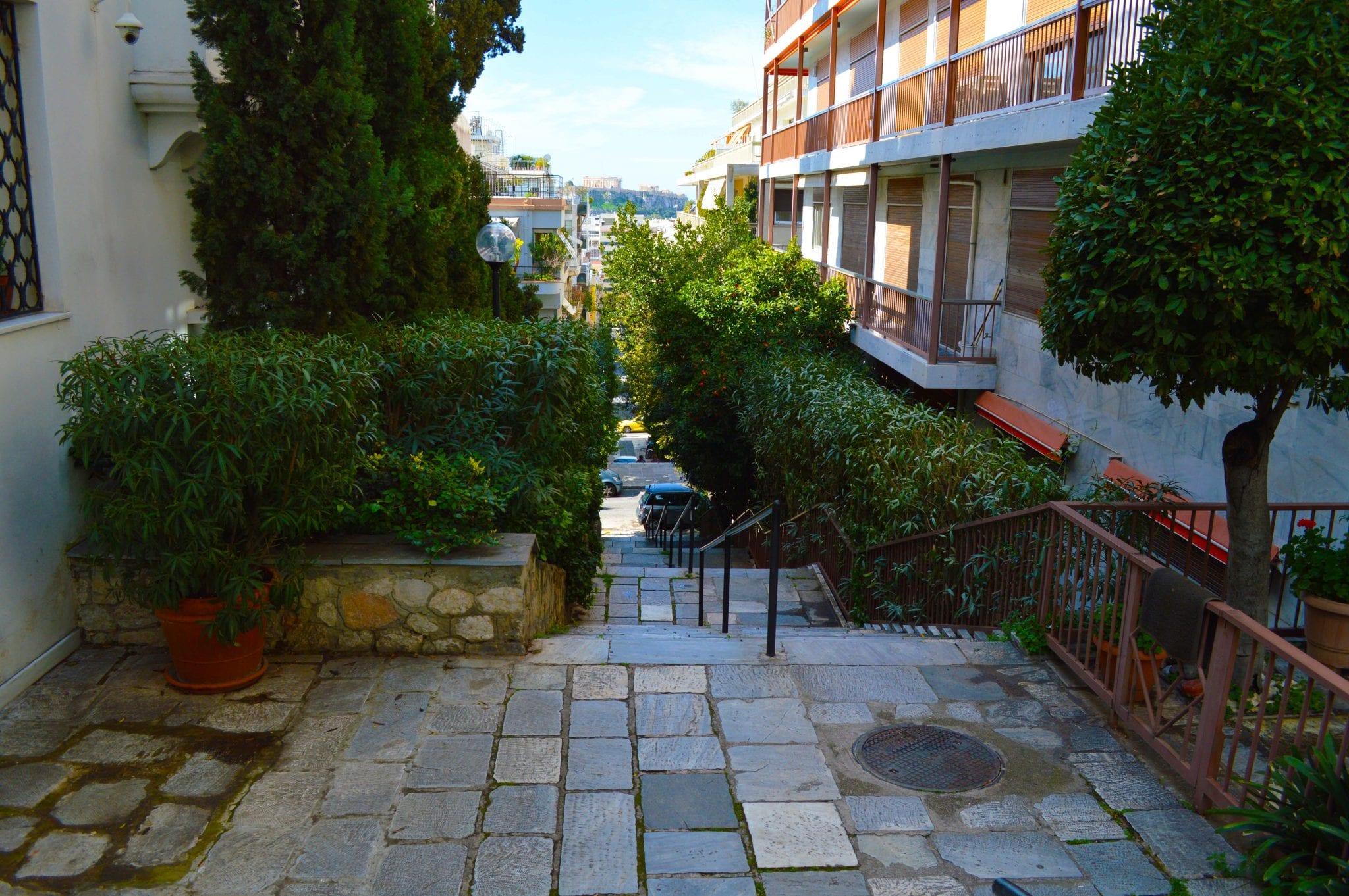 Leukste wijken Athene