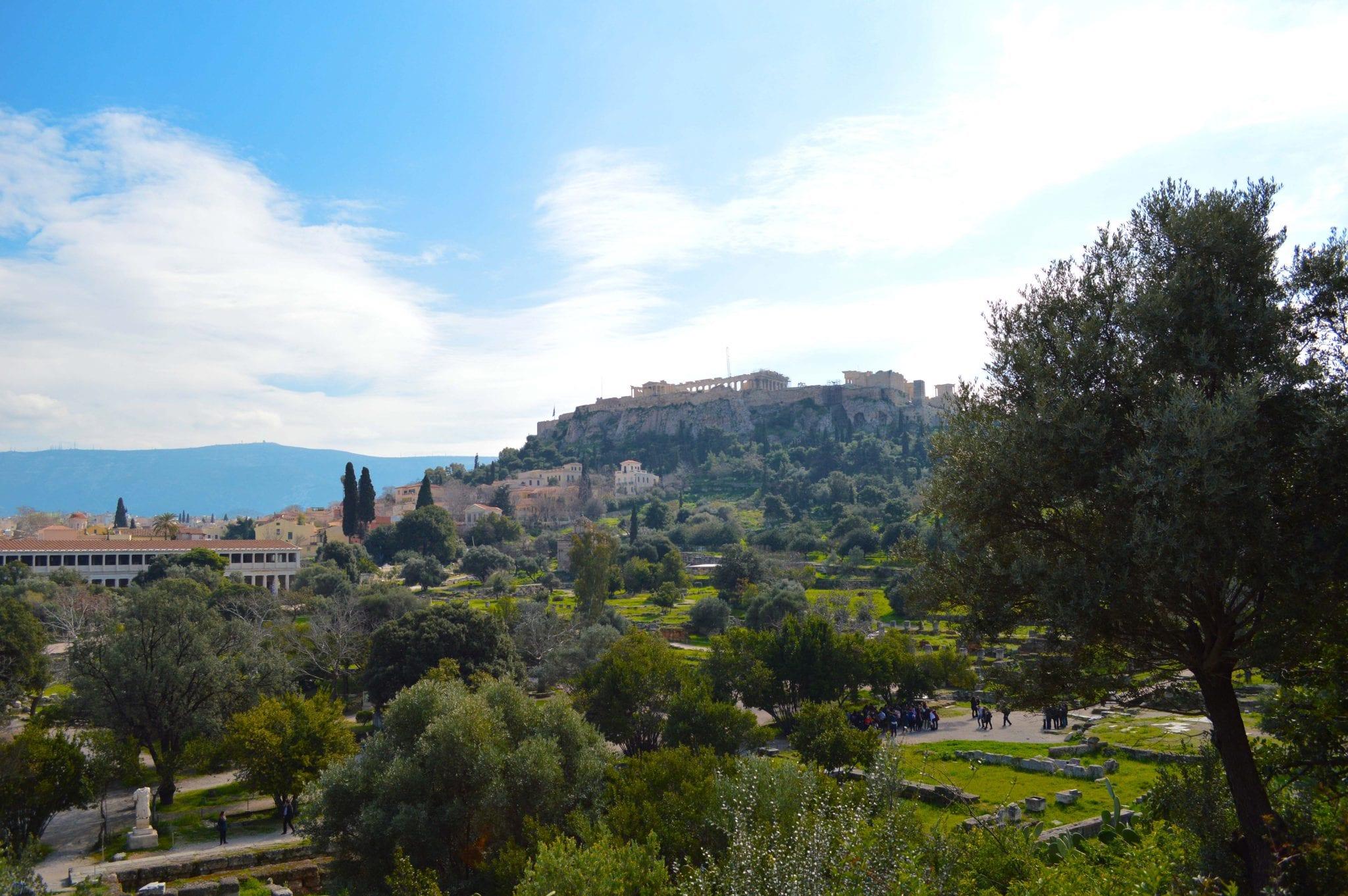 Athene Stedentrip Athens