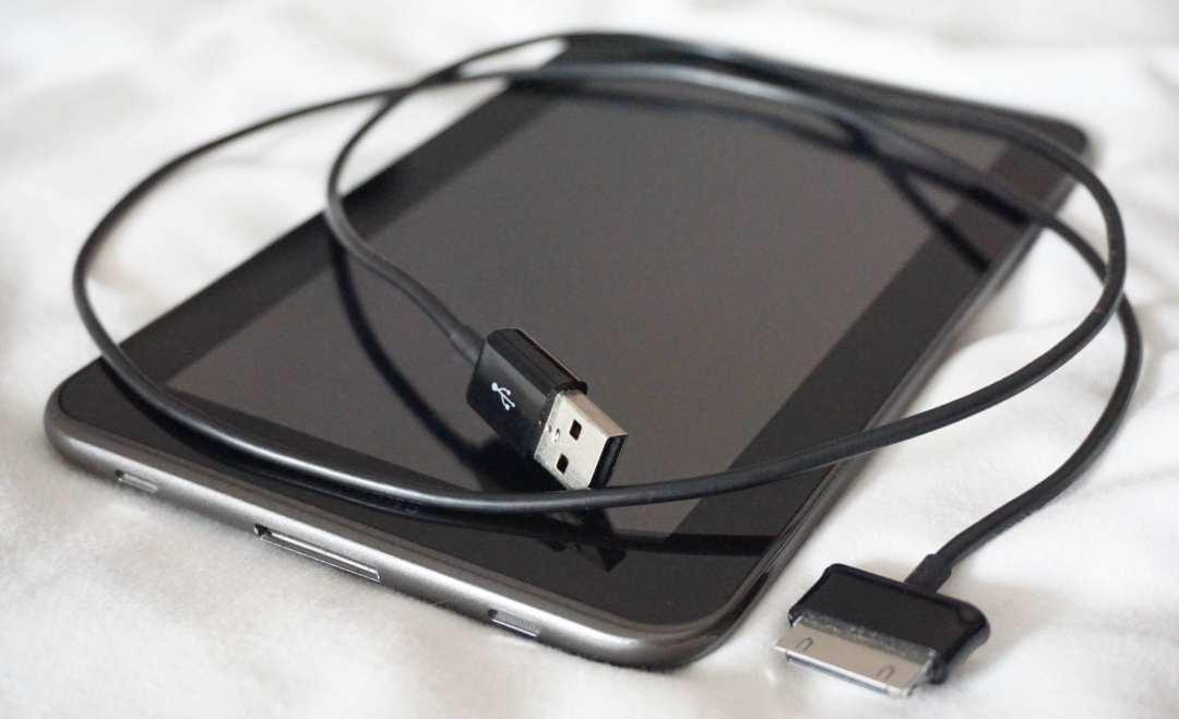 Tablet foto's bewaren op reis storing photos