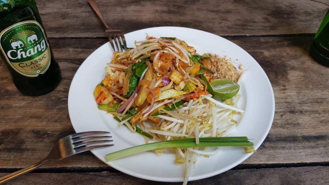 Pad thai. Ervaring met bangkok kosten zuidoost-azië