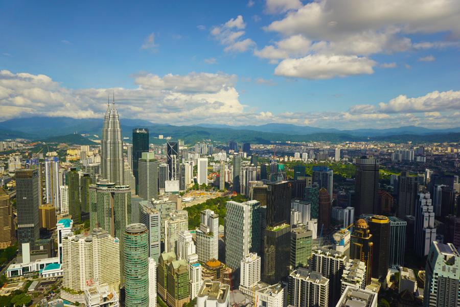 bezienswaardigheden in Kuala Lumpur uitzicht