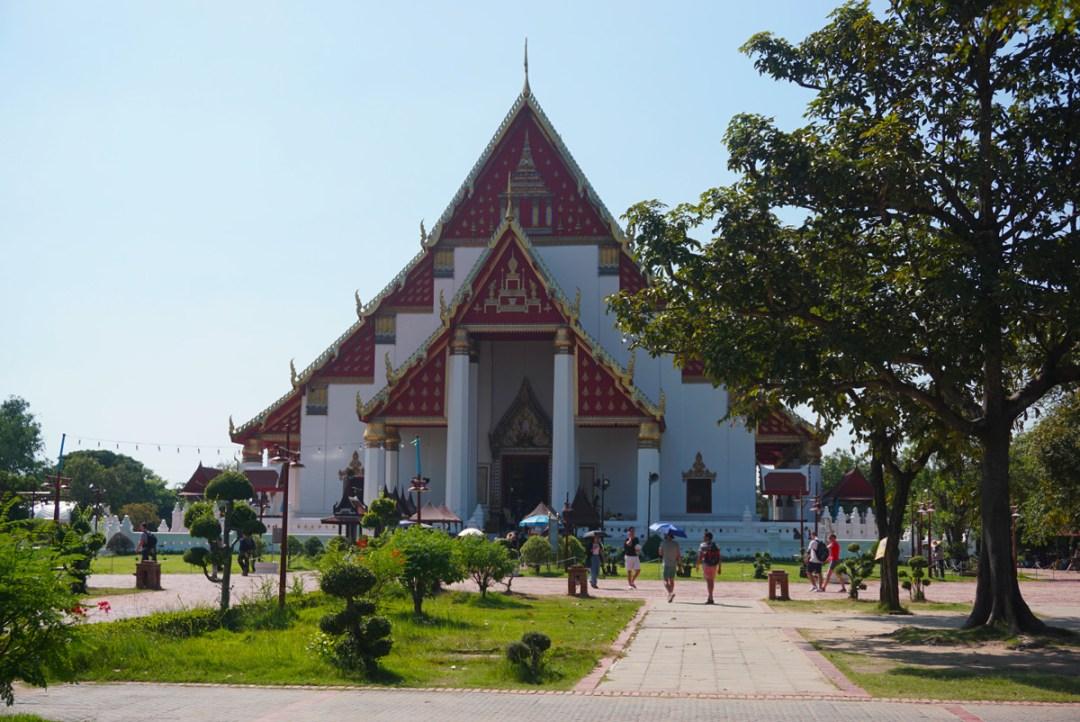 Wat Phra Mongkhon Bophit Ayutthaya