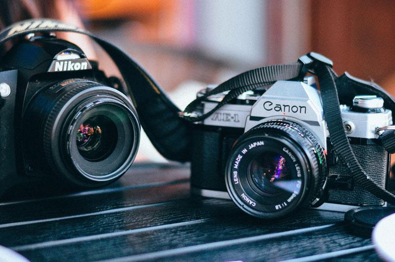 Foto's bewaren op reis storing photos