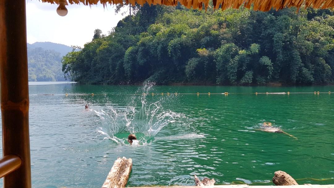 Zwemmen Khao Sok National Park