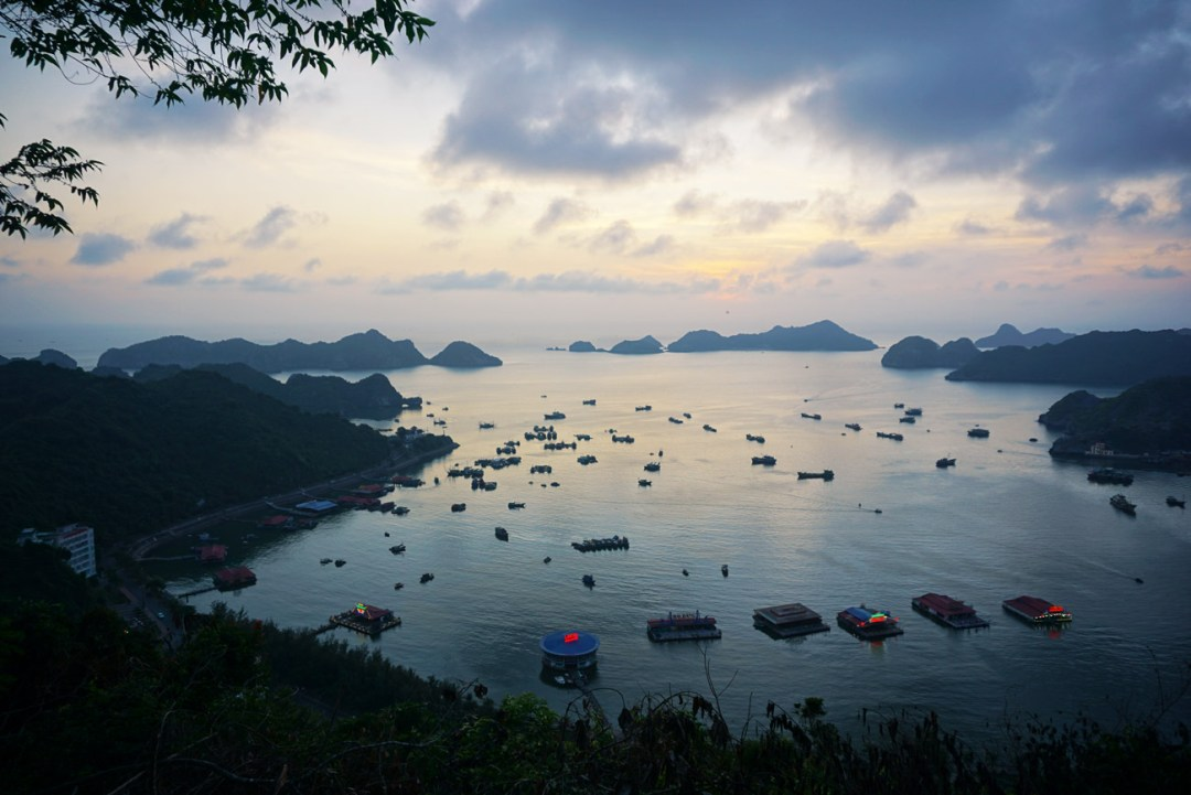 Cat Ba Cannon Fort viewpoint