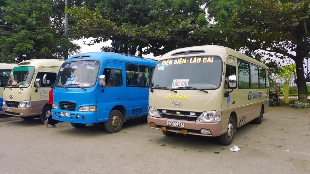 Dien Bien phu busstation