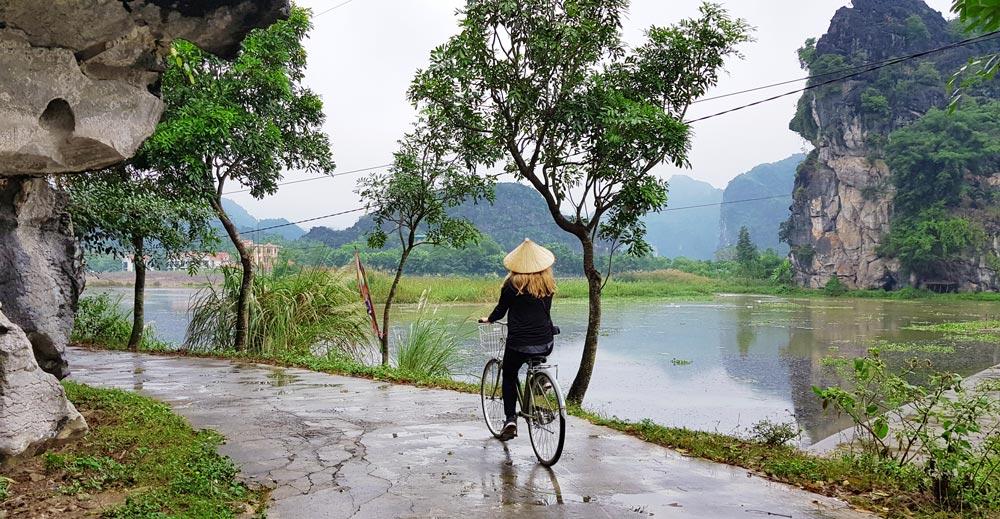 Fietsen Vietnam Reisroute