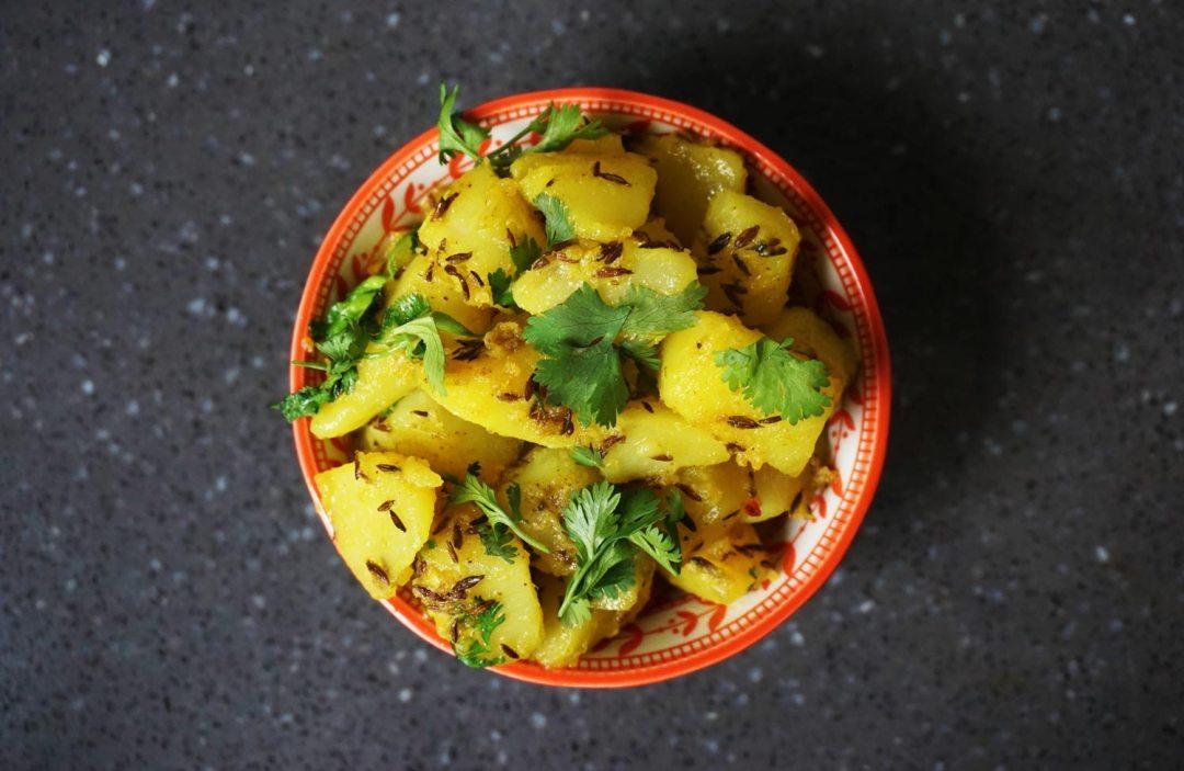 Jeera-Aloo-Indiaas recept