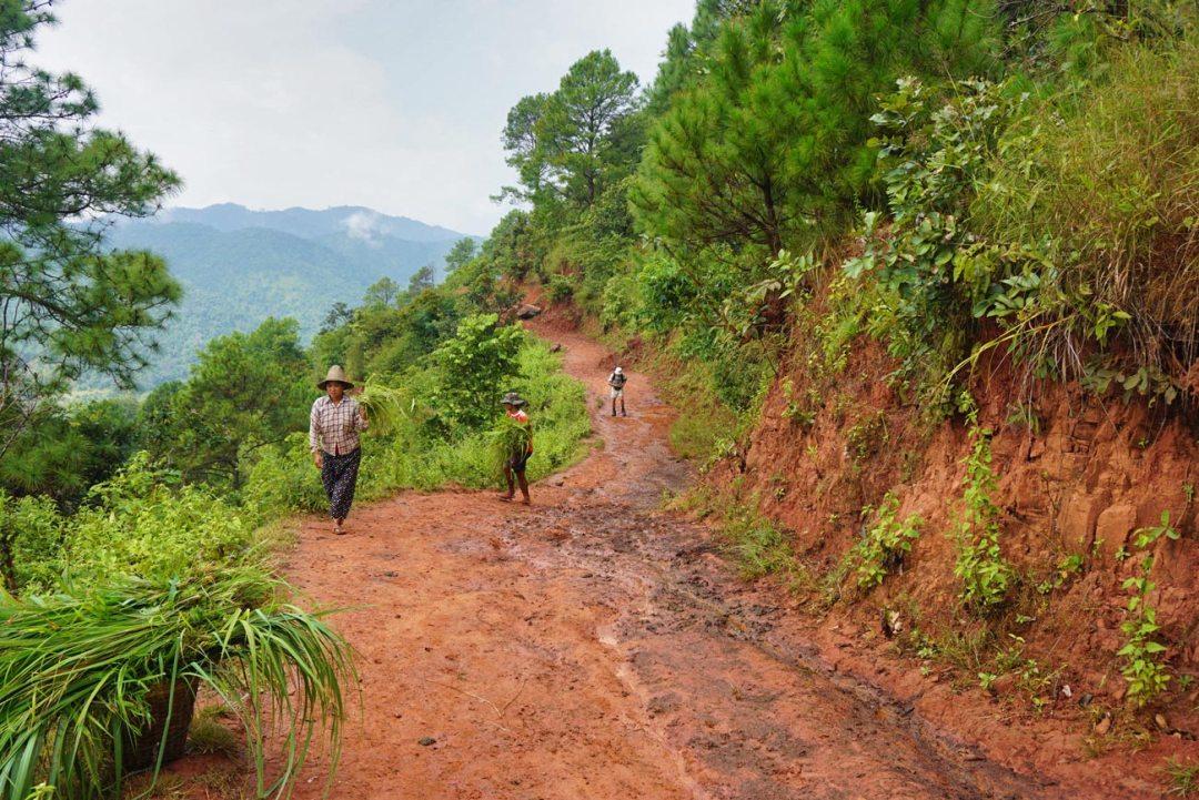 Trekking-Kalaw-Farmers Myanmar