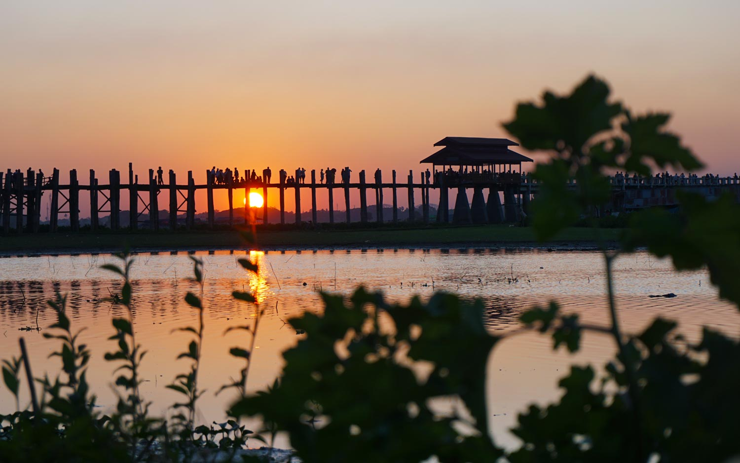 Ubein-Bridge-Mandalay-Myanmar itinerary