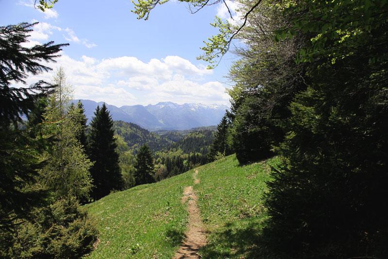 wanderweg, wandelen, bron H.Vroon, MIjnSlovenie