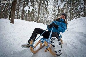 sledding, kranjska gora, mijn slovenie