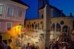 festival in Kranj in Slovenie