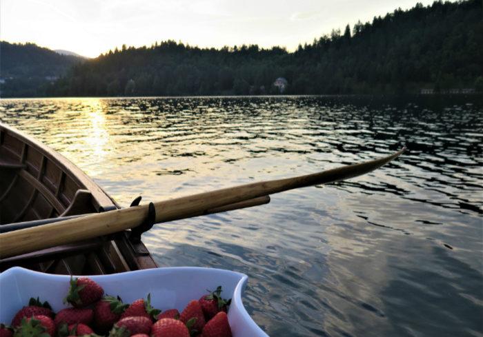 romantisch reis of huwelijksreis Slovenie