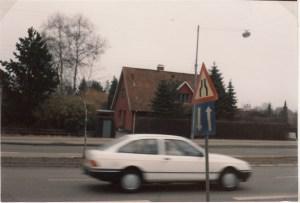 Huset på Bistrupvej i Birkerød