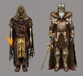 Sorcerer (fire) and King