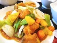 華錦飯店:横浜中華街ワンコインランチ500円/File.21 真鯛と長葱の炒め