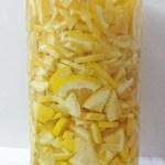 簡単レモン酢の作り方