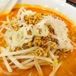 鵬天閣 :横浜中華街お得ランチFile.48坦々麺&焼き餃子