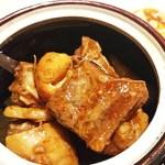 金香楼:横浜中華街お得ランチFile.53牛スジと牛肉の壷煮