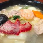 翠鳳 本店:横浜中華街お得ランチ File.73 揚州湯麺&半チャーハン