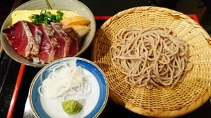 関内壱蕎麦ランチ