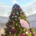 お見合いのプリンスホテルでクリスマスツリー